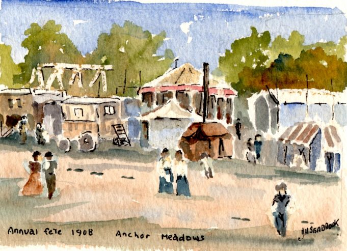 Annual fete Anchor Meadows 1908