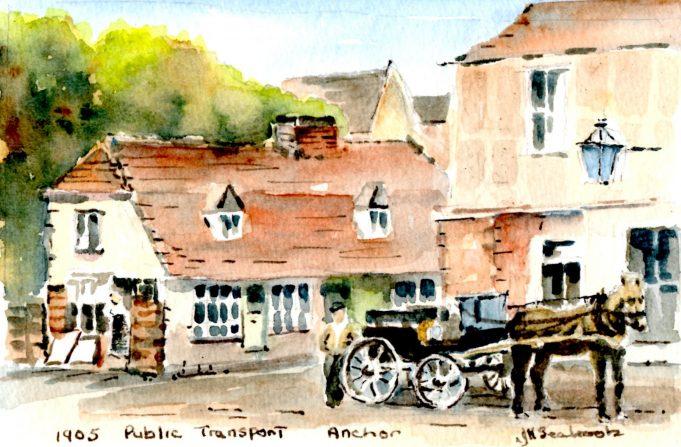 Public transport in 1905
