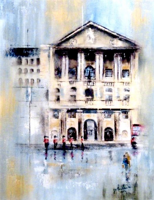 Picquet Going into the bank   -     winner of the prestigous Bank of England art competition in 1995 | Bank of England