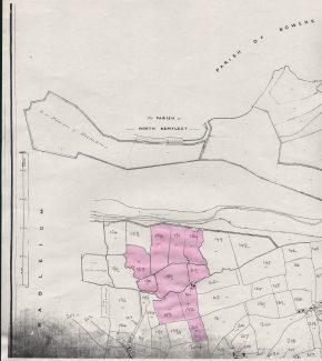Kersey Marsh Farm in 1841