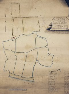 Map of Kersey Marsh Farm date unknown