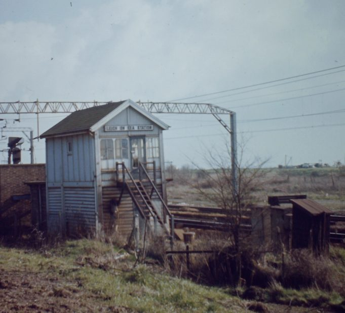 The Leigh signal box between Benfleet and Leigh Station | John Turner