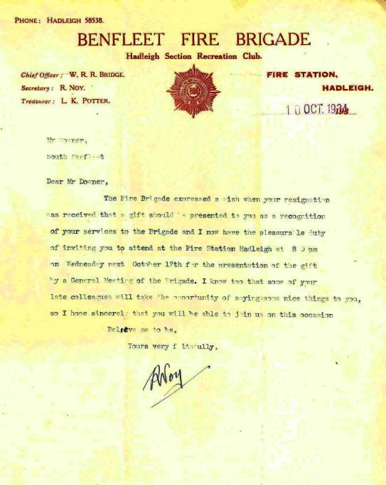 Invitation from the Brigade | John Downer