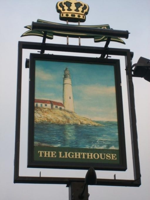 The Lighthouse sign | Picture source Darkstar