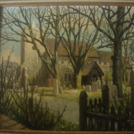 St Mary's Church, courtesy of Geraldine Norris (nee Green)