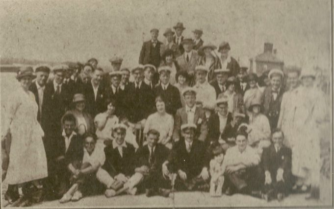 Members of the yacht club date unknown. | Gilbert Wines