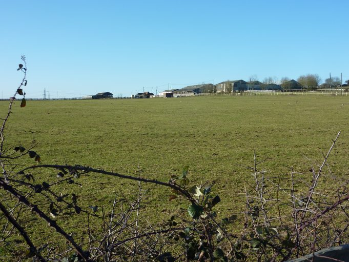 The field at the rear of Watlington Road looking across to Jotman's farm. | Margaret March