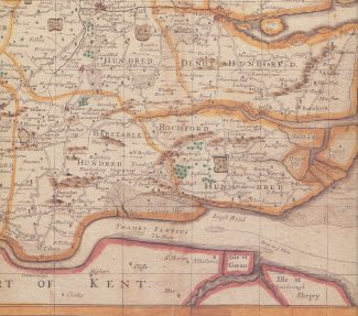 From Ogilby and Morgan's map of Essex 1678