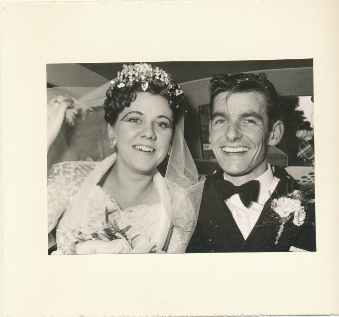 Pat and John Archer 1960