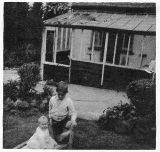 In the garden with my sister Mary, aged one in 1954   John Garnham