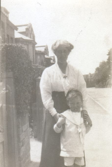 Gwynne with his mother. | Anne Harley