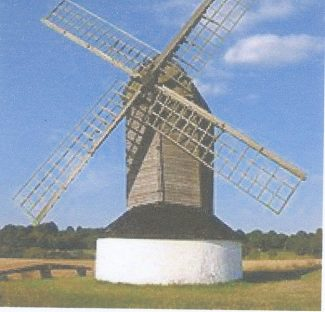 Pitstone Windmill  -  an example of a 17th century postmill