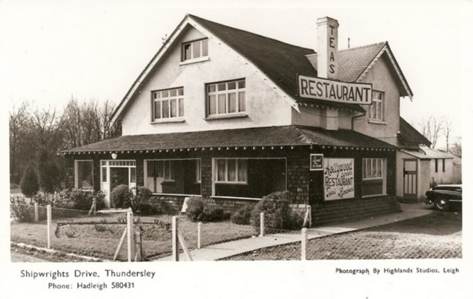 Hollywood Tea Rooms/Restaurant  c. late 1950s   Highland Studios