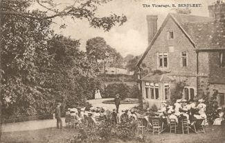 A tea party at The Vicarage 1907 | R.F. Postcards collection