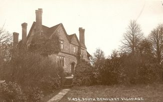 The Vicarage | R.F. Postcards collection
