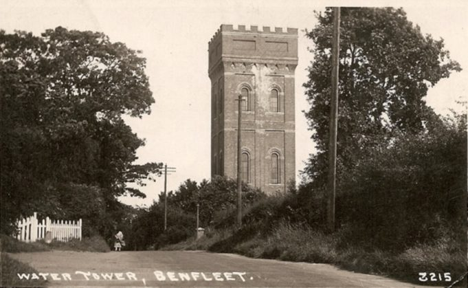 The Water Tower at the top of Essex Way