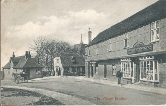 The Village Institute and The Anchor Inn. Date unknown.