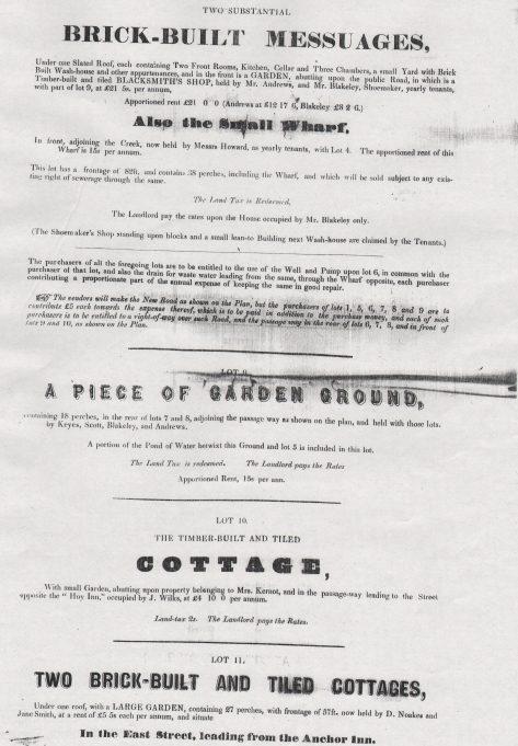 Property Auction 1860