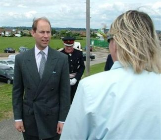 Prince Edward visits Canvey Island | Castle Point Borough Council