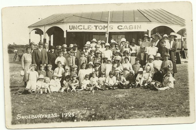 The Benfleet Sunday School on a trip to Shoeburyness 1925
