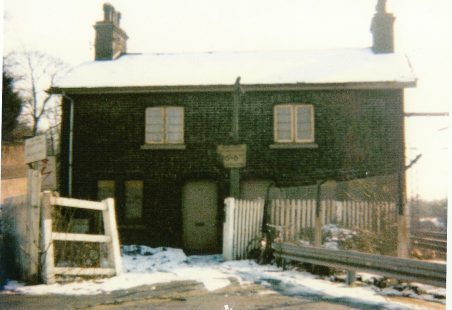 Life at 2 Station Cottages in 1930's - 1940's