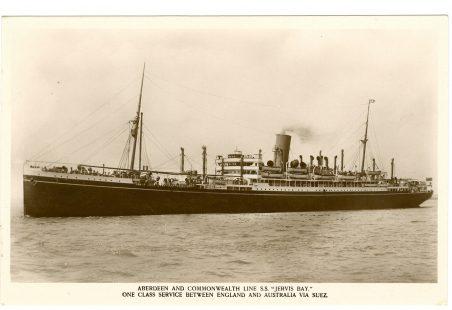 H.M.S. Jervis Bay.