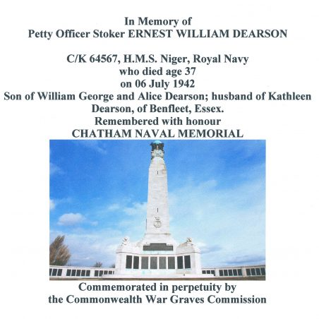 Chatham Naval Memorial.  Kent. | Copyright.  Commonwealth War Graves Commission.