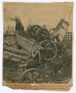 Benfleet Train Wreck.  5 June 1933 | Press.  Newspaper unknown.