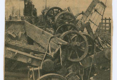 Benfleet Train Wreck.