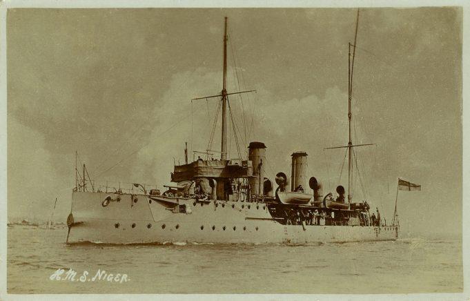 H.M.S. Niger.  WW1.   Unknown