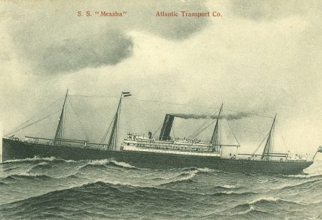 (34a) The S. S. Mesaba.  Warns The R.M.S. Titanic