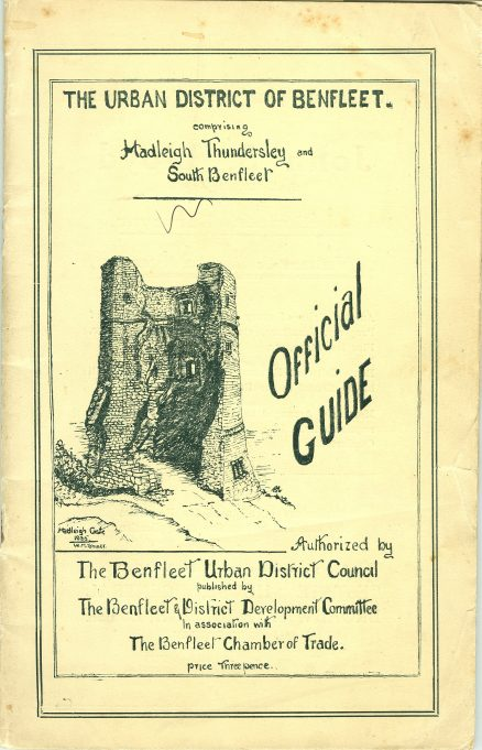 Official Guide - The Urban District of Benfleet - published c. 1935 or 1936 | John Downer