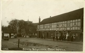 WW1 Memorial Site.  Photographic Postcard.  Pre 1920. | Unknown.