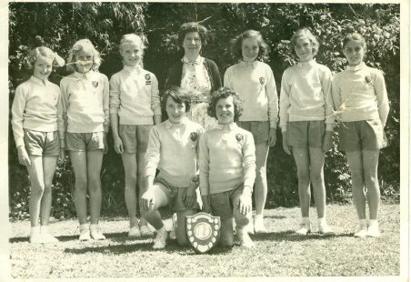 Benfleet Junior School - Netball Team 1960