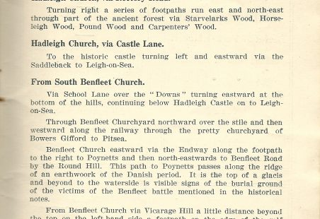 1936 Footpaths Pictures and Routes