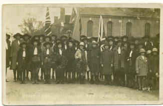 1st Benfleet Guides November 1925 Remembrance Sunday | John Downer