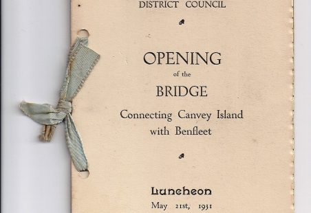 Celebrating the new Benfleet to Canvey bridge