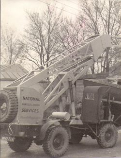 Picture 6 - One of the heavy lifting vehicles | F. Lazell