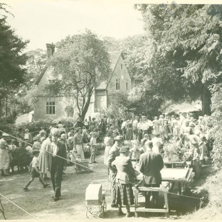 Photo 6: An event in the garden of The Vicarage c.1960s but what? | Shiner & Holmes