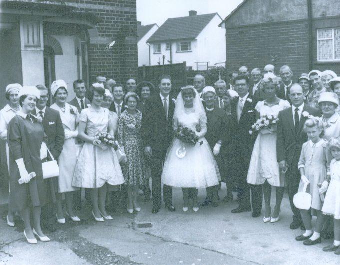 Betty and Ken Cockburn's wedding | Betty Cockburn