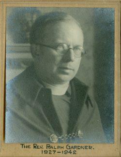 Reverend Ralph Gardner | St Mary's Church records