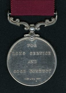 Long Service and Good Conduct Medal to D. Carson. | Ronnie Pigram.