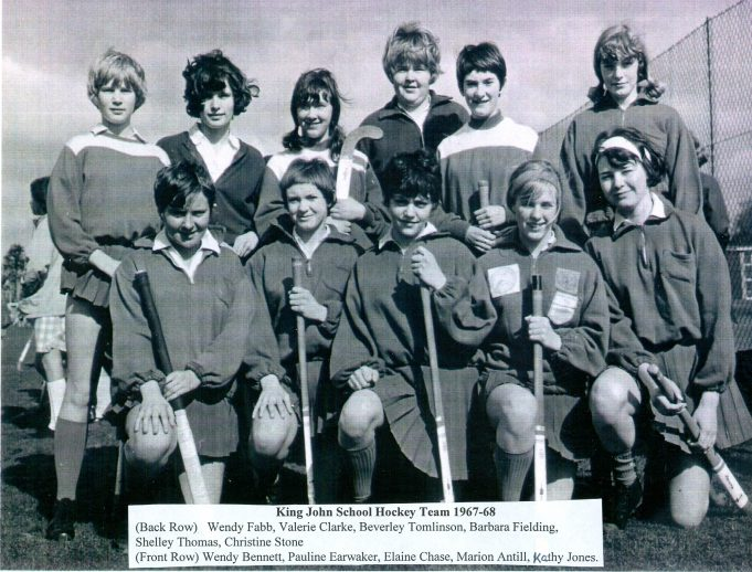 King John School hockey team 1967/68 | Glenn Newman