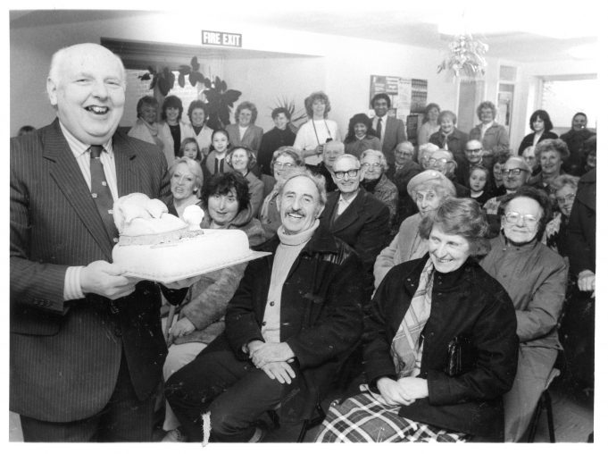 Doug's retirement party 1985 - see newspaper article | © Echo Newspapers