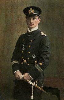 Kapitänleutnant Otto Weddigen.