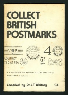 Collect British Postmarks. Dr. J. T. Whitney, was reputed to be the world's leading authority on British postmarks. He also compiled and published the book, Collect British Postmarks. By coincidence, Dr. Whitney was a resident of Benfleet.