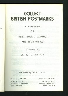 Collect British Postmarks.