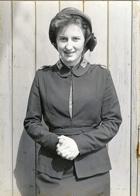 Posing for a photo in my Salvation Army uniform. | Maureen Watson
