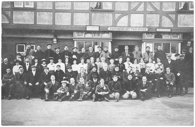 Refugees and parishioners group photo c. 1915 | Betty Matson