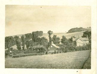 Rear of 'Ravenswood'.  Autumn 1906